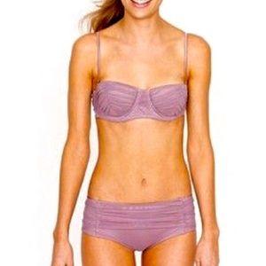 Jcrew tulle bikini, lavender